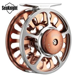 SeaKnight Honor Carretilhas De Pesca Com Mosca 3/4 5/6 7/8 9/10 Alumínio Machined Full Metal Pesca Com Mosca Roda De Água Salgada De Pesca De Água DoceY1883004