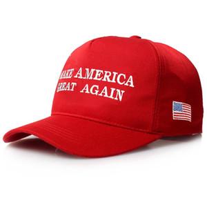 Chapeaux de maga rouge broderie font l'Amérique grande à nouveau Chapeau Donald Trump Chapeaux Soutien Atout Casquettes de baseball Casquettes de baseball de sport