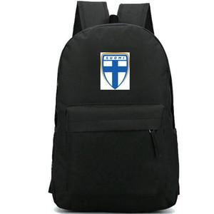 فنلندا ظهره فريق حزمة سومي اليوم الوطني قوية packsack حقيبة مدرسية لكرة القدم لكرة القدم الحقيبة المدرسية الرياضة Daypack حقيبة في الهواء الطلق