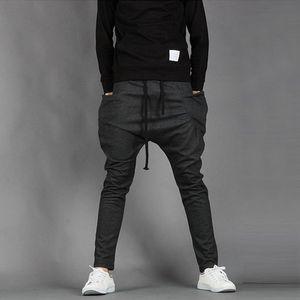 Nouveau Hommes Garçons Mode Harem Sport Danse Sweatpants grandes poches Baggy jogging Pantalon Casual nouveau costume Homme pied hommes