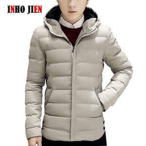 Winter Jackets Men New Trend Casual Mens Parkas Cotton Padded Hooded Outwear Coats Warm Thick Autumn Jacket Male  Clothes