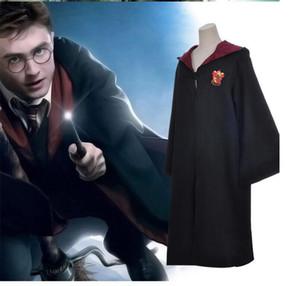 Harry Potter Robe Cloak Cabo Cosplay Costume crianças Adultos escola Gryffindor roupas uniformes Slytherin Hufflepuff Ravenclaw Halloween 2018