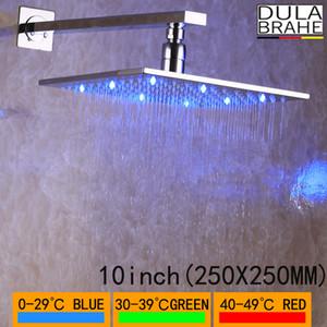 DULABRAHE Rain Shower Shower Head Ruota 360 gradi Cromato Bagno Rainfall Top Doccia risparmio idrico di alta qualità