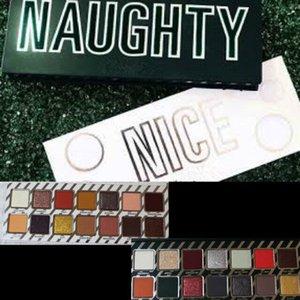 NEW Cosmetics Naughty أو Nice Eyeshadow Palette لهدايا عيد الميلاد اختر لوحة الشحن السريع