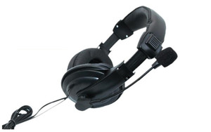 headphones earphones bass and line tuning full-sized Direct charge Telephone headset