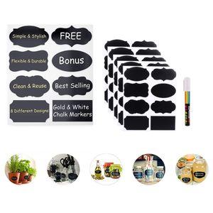 Etiquetas de pizarra Resaltador reutilizable Premiumlabeling decoración del hogar