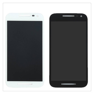 Para motorola moto g3 g 3o gen xt1544 xt1542 xt1550 xt1540 xt1541 display lcd + touch screen digitador preto branco cor