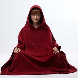 Meditasyon giyim mala giysi Budist rahip elbiseler meditasyon minderi TA547 pelerin femamle kadınları kapüşonlu