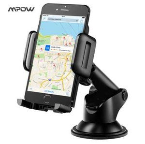Mpow new Adjustable Dashboard Cellphone Mount Holder Strong Sticky Gel Pad 360 degree Rotation Car phone holder for cell phones