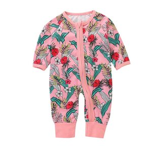 Baskılı Bebek Tulum Kırık Çiçek Mektup Ayı Bum Tulum Yenidoğan Ekose Çizgili Uzun Kollu Elastik Alt Giysi Sıcak Sonbahar Kazak