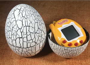 LNL New Retro Game egg shells Toys Pets toy pet In One Funny Toys Vintage Virtual Pet Cyber Toy Tamagotchi Digital Pet Child Game Kids free