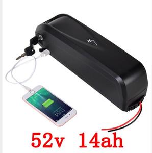 AB ABD AU Hailong lityum 52V 14a-h ebike pil, Pil Paketi ve Şarj, 3500mah 18650 Lityum Pil için ücretsiz nakliye