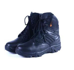 Botas militares, botas de combate de forças especiais masculinas, botas de deserto, bota tática, bota de montanhismo de terra, como treinamento de homens e mulheres