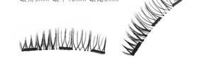 MINK eyelash9 Arten Triple-Magnetic Eye Lashes 3D wiederverwendbare falsche Wimper-Verlängerungs-Magneten 3d Wimpernverlängerung magnetische Wimpern Make-up