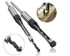 Alta Qualtiy 10mm / 16mm Broca Quadrada Mortízio Mortiz Cinzel De Madeira Ferramentas de Perfuração Elétrica
