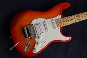 Novo estilo de alta qualidade ª guitarra elétrica، artisanal stratocaster gitaar، Maple guitarra، mostra a foto Real