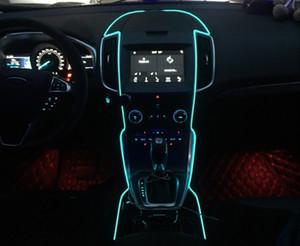 Paquet de courrier el avec side-car LED lumière froide à l'intérieur de la lampe d'ambiance clip de type lumière changement d'ambiance lumière décorative ruban