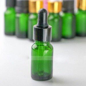 유리 피펫과 에센셜 오일 eJUICE Eliquid에 대한 뜨거운 판매 768 많은 녹색 화장품 유리 포장 10ML 유리 dropper 병