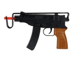 SPETSNAZ UZI SCORPION Táctico para pistola Airsoft accionada por resorte - Negro