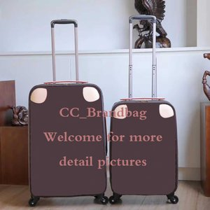 """20 inch 24"""" Rolling luggage fashion designer high quality four wheels Trolley bag men travel suitcase for women carry on luggage"""