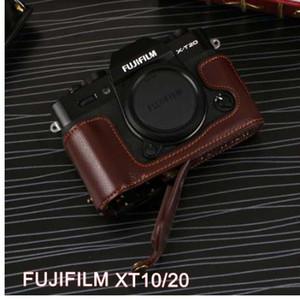 Etui en cuir véritable pour appareil photo FujiFilm Fuji XT10 X-T10