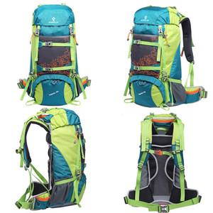 GREENLAN 50L Multifunktions-Profi-Kletterrucksack Super High Quality Interner Rahmen Wasserdichte Bergsporttaschen
