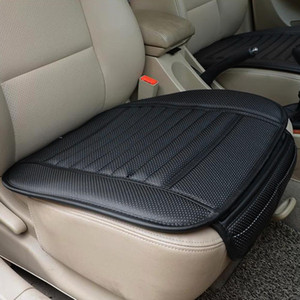بو الجلود غطاء مقعد السيارة فور سيزونز مكافحة زلة حصيرة مقعد السيارة وسادة غطاء عالمي اكسسوارات السيارات سيارة التصميم