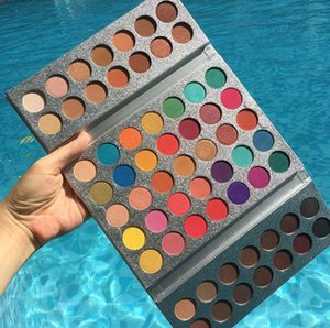 ¡Calidad superior! Beauty Glazed 63 Colors Eyeshadow Palette Gorgeous Me Eyeshadow Tray Cosméticos para los ojos