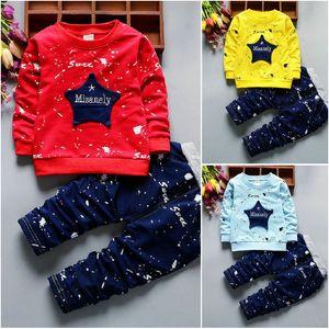 2PCS Toddler Kids Baby Boy T-Shirt Tops Long Pants Toddler Clothes Set Outfits