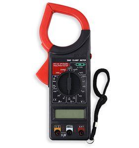 Freeshipping الرقمية المشبك متر المتر ac dc اختبار أداة الكهربائية prortable أدوات المتر المتر فاحص
