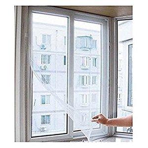 Weiße große Fenster Bildschirm Mesh Net Insekten Fliegen Bug Moskito Moth Tür Netting neue schiere Vorhänge