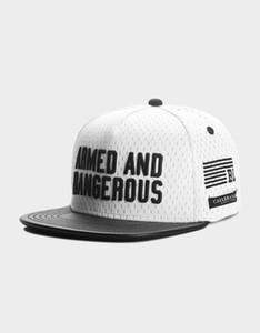 무료 배송 싼 고품질 모자 클래식 패션 힙합 브랜드 남자 여자 snapbacks 화이트 / 블랙 CS BL ARMED N 'DANGEROUS CAP