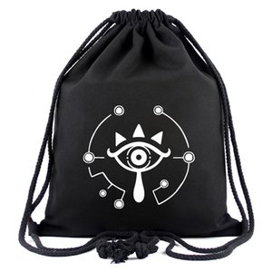The Legends of Zelda Anime Cool Design Backpack 3D Printed With Drawstring Bag for Men Women Cosplay Accessories