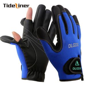 Haute qualité hommes doigt complet gants gants de pêche sportive eldiven carpe surfcasting mouche gants de pêche