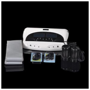 2 사람 건강 관리 이오니아 발 스파 이온 이온 Detox 기계를 정화하십시오 적외선 벨트와 팔찌를 가진 이중 Detox 발 목욕 장치