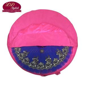 Rose vermelho profissional ballet tutu bag céu azul lona flexível flexível e dobrável sacos de balé macio ballet tutu case