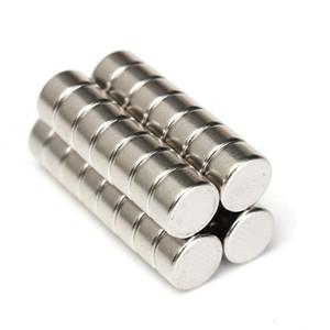 30pcs N52 aimants de cylindre super puissants aimants au néodyme de terres rares de 6mm x 3mm
