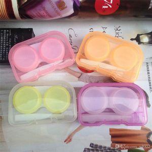 Plastik Kontakt Lens Kutusu Ile Cımbız Ve Sors Emmek Saklama Kutusu Kolay Taşımak Organizatör Çok Renkler 0 78cj dd