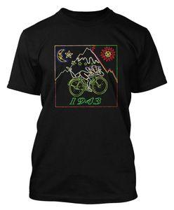 Viagem de Dia de bicicleta Desconto Por Atacado T Camisa Ácido Dr Albert Hofmann T-shirt Partido Ácido Dtg1 Engraçado Tops Tee New Unisex Engraçado Frete Grátis