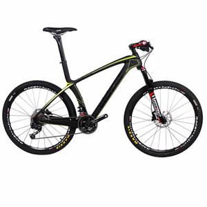 Costelo 9.9 자전거 MTB 프레임 탄소 Bicylce 산악 자전거 27.5 650B MTB 프레임 원래 그룹 바퀴 안장 바 타이어