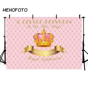 vente en gros royale litière princesse bébé douche photographie décors couronne sexe révèlent décoration de fête photo fond