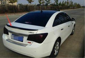 Kaliteli kılıf Fit Için Chevrolet Cruze 2009-2014 Araba Aksesuar Arka Bagaj Kapağı Kuyruk Arka Trim Kuyruk Spoiler ABS (Not: renk)