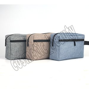 New Arrival Makeup Bags 3 Colors Hand-held storage cosmetic bag Travel cosmetic bag waterproof Oxford cloth high-grade toiletries cosmetic