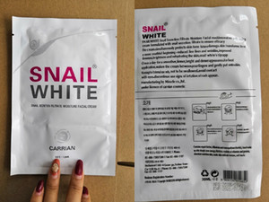 Snail White Face mask Snail Secretion Filtrate Moisturek Carrian Filtrate Secretion Skin Care Acne Facial Moisture Mask