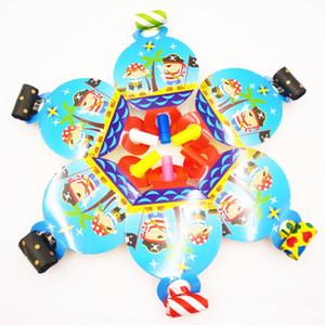 6 pçs / saco Pirata Colorido Dos Desenhos Animados Engraçados Assobios Festa de Aniversário Das Crianças Blowing Dragão Blowout Fontes Do Partido Do Pirata Do Bebê