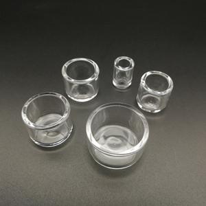 Últimos tazones de cuarzo Insertar Phat Drop Skillet para L XL XXL Grueso Domeless Banger Nail Thermal dab Nail glass Tubos de agua bong