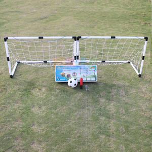 Мини-футбол футбольный мяч цель складной сообщение чистая + насос дети спорт крытый открытый игры игрушки дети