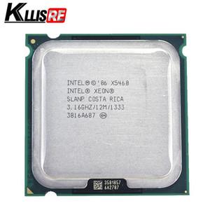 معالج Intel Xeon x5460 3.16 جيجا هرتز 12M 1333 ميجا هرتز يعمل على محول اللوحة الرئيسية LGA775