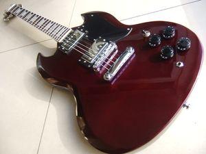 ¡Envío gratis! Mejor precio de calidad superior Cibson SG Electric Guitar. G400 Model ebony fingerboard Guitar.classic musical instrument