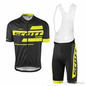 Scott Pro Cycling Jersey Set de verano Ciclo de manga corta Ropa MTB ROPA CICLISMO Bicicleta Maillot BIB Shorts Set S21012852